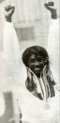 Teresa Edwards was a two-time Olympic Gold Medalist